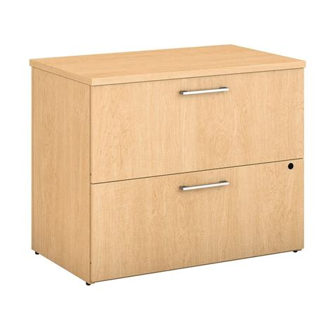 Maple Lateral File Cabinet Bush Business Series 2 Drawer Lateral File Cabinet In Maple 400sfl236ack