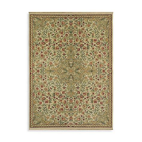 Shaw Antiquities Area Rugs Shaw Antiquities Collection Mille Fleur Rugs In Beige Bed Bath Beyond