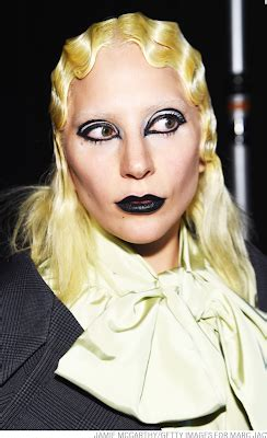 skin whitening what africas lady gaga really thinks bbc news lady gaga models for marc jacobs at new york fashion week