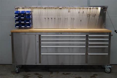 metal tool bench stainless steel rolling tool bench moorhead liquidation