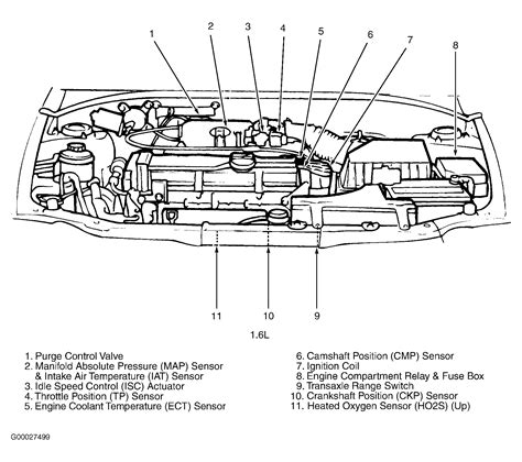 2003 hyundai accent engine diagram get free image about