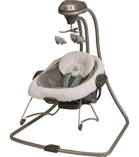 swinging baby bouncer graco duetconnect swing bouncer monroe
