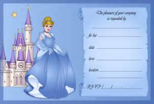 cinderella invitation to the template 7 best images of cinderella birthday invitations printable