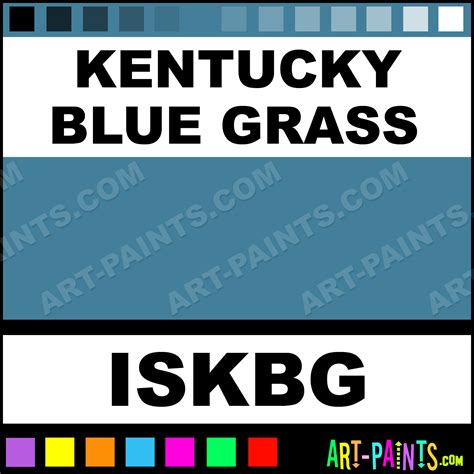 kentucky blue grass color ink paints iskbg kentucky blue grass paint kentucky blue
