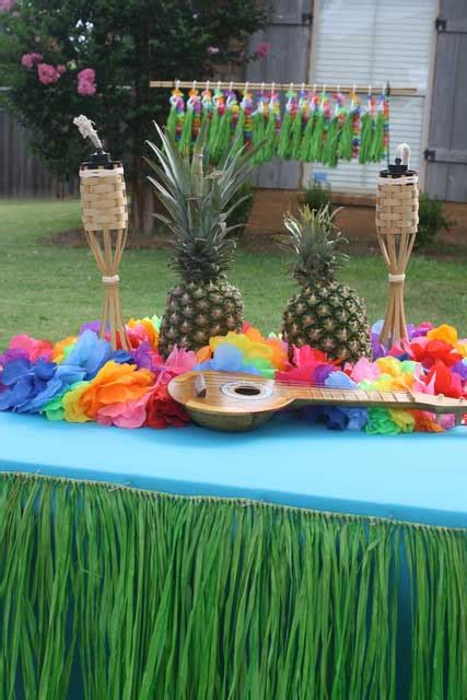 how to plan luau theme parties christmas lights etc blog