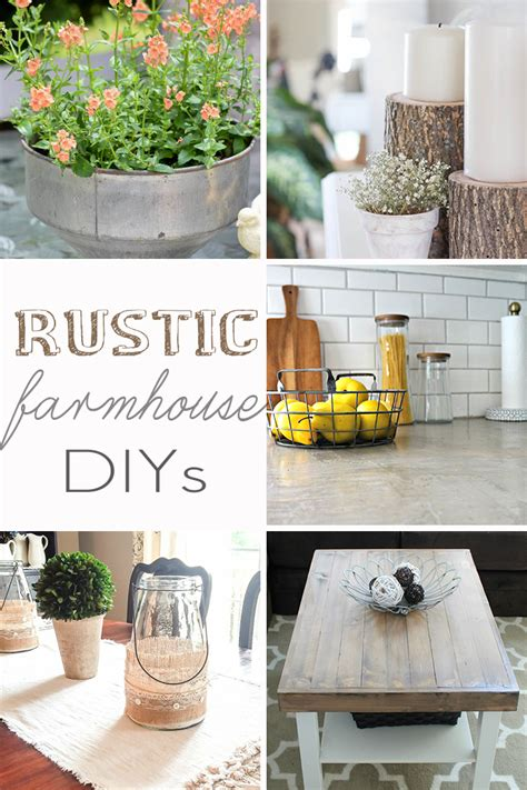 rustic farm house rustic farmhouse diy projects