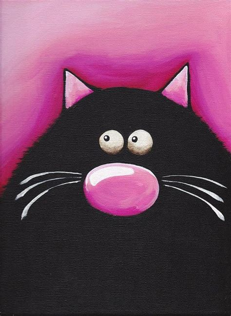 Cat Kaca Folkart Enamel Paint Yellow 151 best images about cat on folk painting studio and canvas prints
