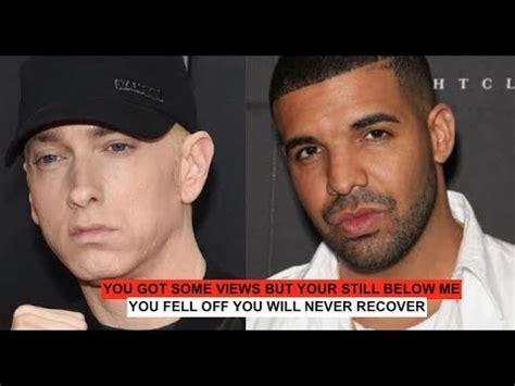 drake never recover drake responds to eminem fell off youll never recover