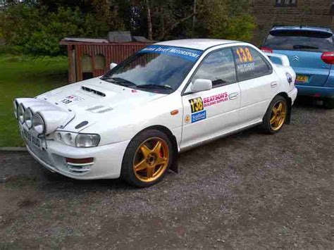 Subaru Rally Car Impreza Gc8 Stage Rally Prepared