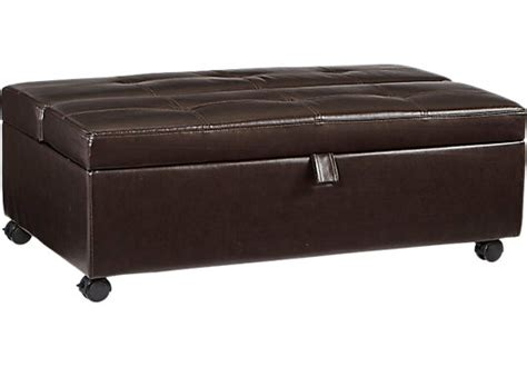 rooms to go ottoman stillmore sleeper ottoman ottomans