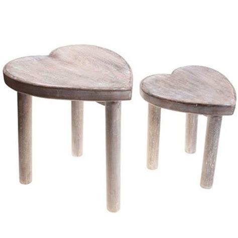 Shaped Stool by Buy Shaped Wooden Stools Set Of 2 Brown