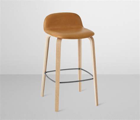 Spec Sheet For Interior Designers visu bar stool leather low bar stools from muuto