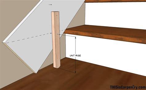 stair template jig diy stair tread jig ideas home design staircase pics