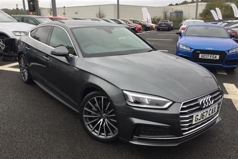 Audi Tfsi 2 0 by Used 2017 Audi A5 2 0 Tfsi Quattro S Line 5dr S Tronic For