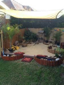 sandpit backyard