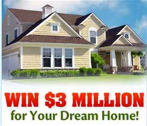 publishers clearing house pch 3 million dream home sweepstakes - Pch Dream House Sweepstakes