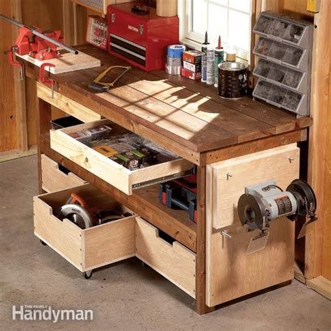 work bench idea workbench plans workbenches the family handyman