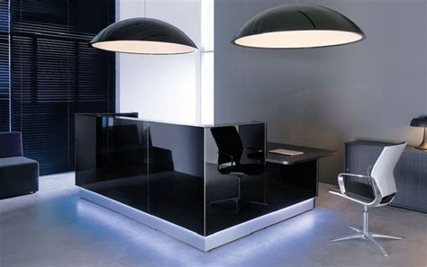 Reception Desk Black by Tips On Choosing The Best Black Reception Desk In The