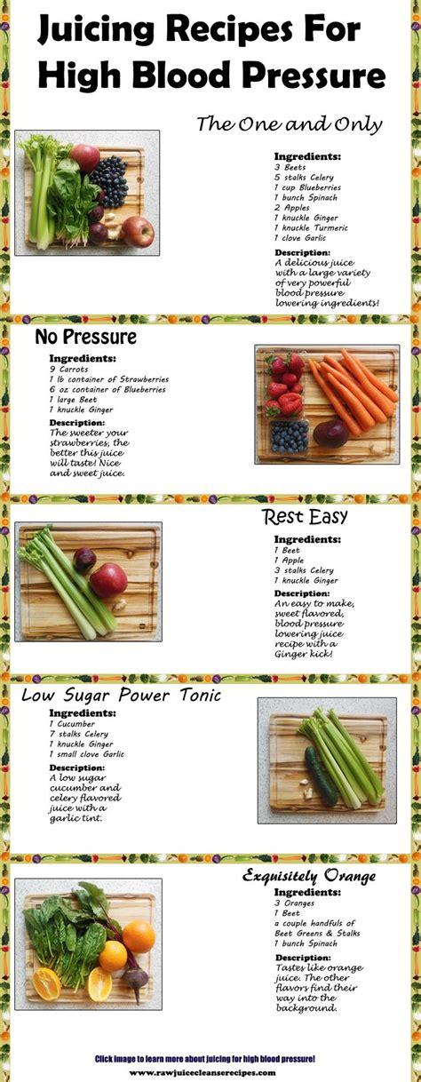 Detox For Hypertension by Juicing For High Blood Pressure Lower Blood Pressure