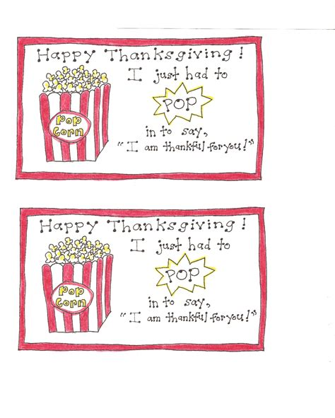 printable popcorn name tags thanksgiving popcorn tags version 2 happy home fairy