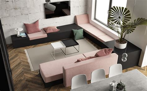 Apartment Theme Ideas Great Inspiration Of Small Modern Studio Apartment Using Scandinavian Style And Open Plan Design