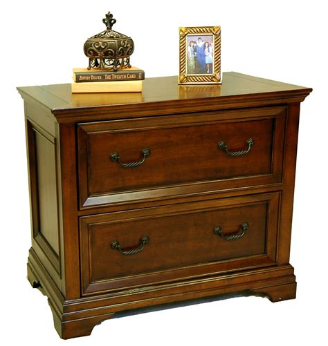 Wood Lateral File Cabinet With Lock Wood Traditional Cherry Locking Lateral File Cabinet Ebay