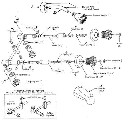 Bathroom Faucet Parts Diagram Glamorous Minimalist Exterior Or Other Bathroom Faucet Parts