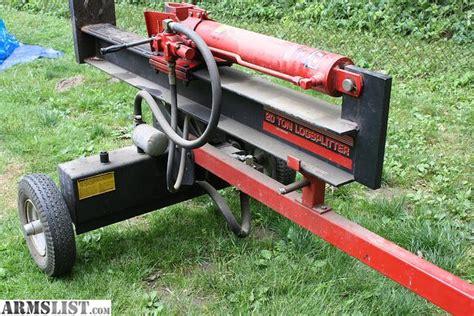 log splitter ram armslist for sale mdt 5 hp gas 20 ton ram log splitter