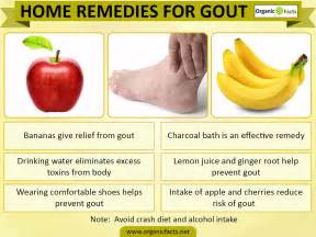 gout home treatment home remedies for gout organic facts