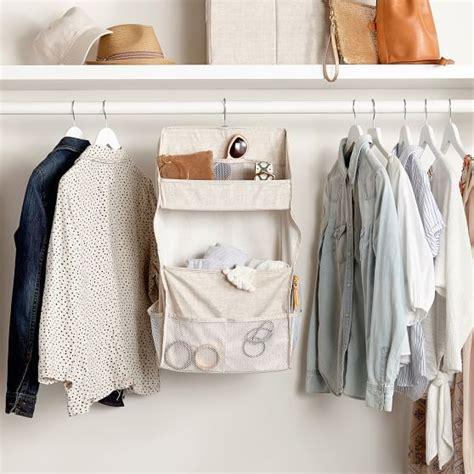 Closet Organizer Accessories Hanging Closet Accessories Organizer Pbteen