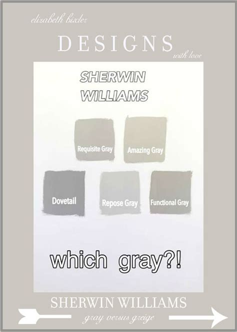 sherwin williams light gray undertones sherwin williams gray versus greige
