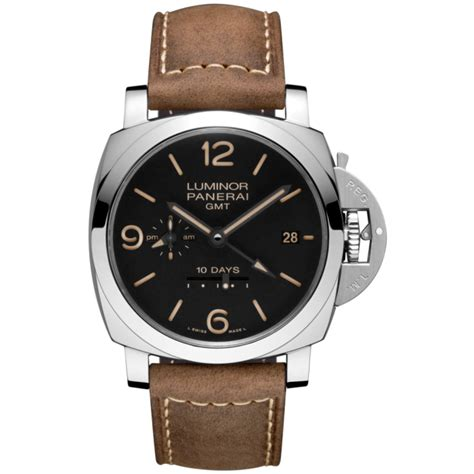 Panerai Luminor Gmt 10 Days Pam533 by Panerai Luminor 1950 10 Days Gmt Acciaio Pam00533