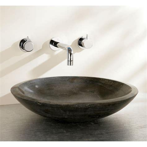 countertop bathroom basins finwood designs shallow stone countertop basin uk bathrooms