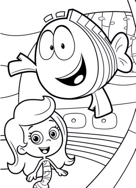molly color molly guppies coloring pages