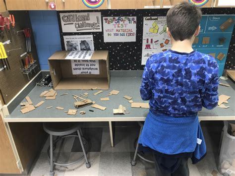 In Search Of Understanding The For Constructivist Classrooms Blocks Paper Scissors