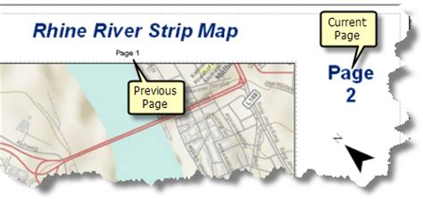 arcgis layout dynamic text adding dynamic text to a strip map help arcgis for desktop