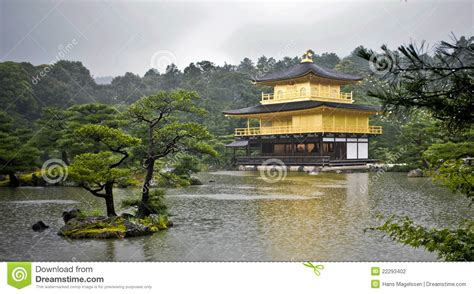 pavillon 7x7 golden pavilion kyoto stock photography image 22293402