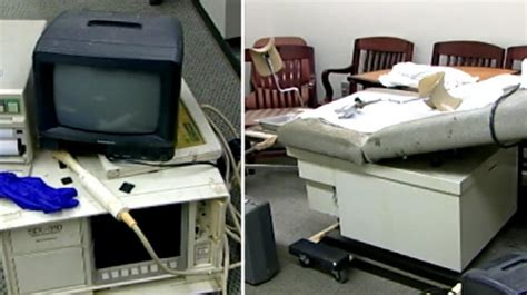 kermit gosnell house of horrors equipment from kermit gosnell abortion clinic available for public to see video the
