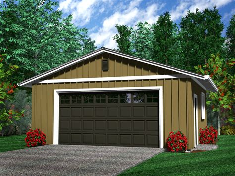 Two Car Garage Plans by Detached Garages