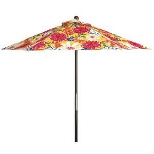Floral Patio Umbrella Floral Patio Umbrella Rainwear