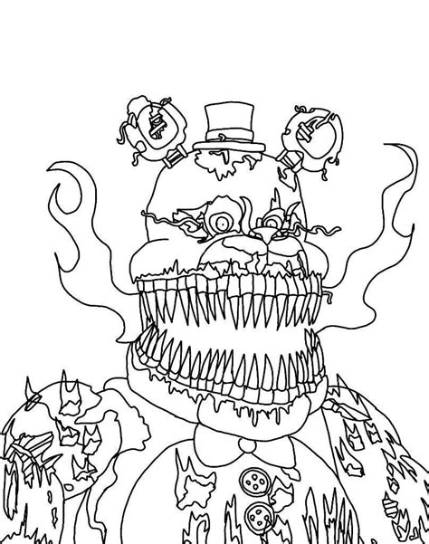 Fnaf 4 Coloring Pages by Fnaf Coloring Pages Part 2 Free Resource For Teaching