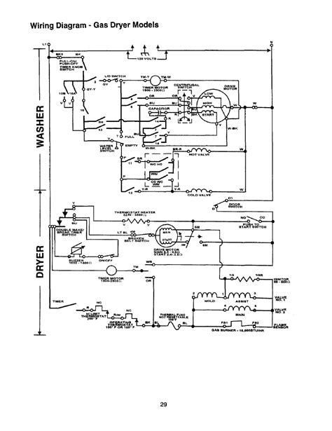 wiring diagram dryer thin whirlpool electric dryer