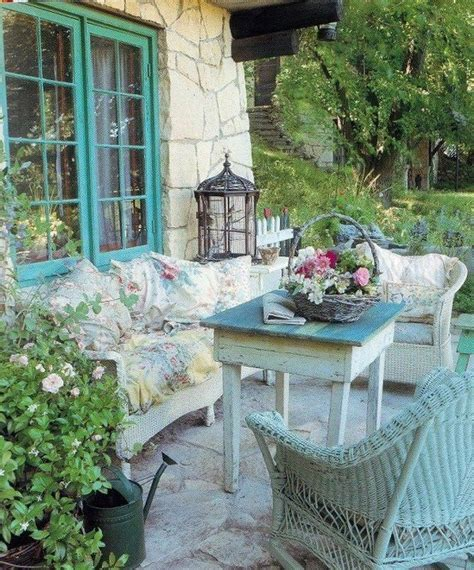 shabby chic spring patio spring summer ideas pinterest