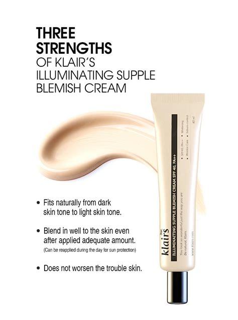 Dear Klairs Blemish Bb Original Everbluec Klairs Illuminating Supple Blemish Spf 40