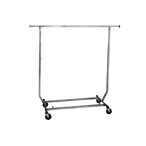 Rolling Dress Racks by Collapsible Square Rolling Rack Salesman Rack
