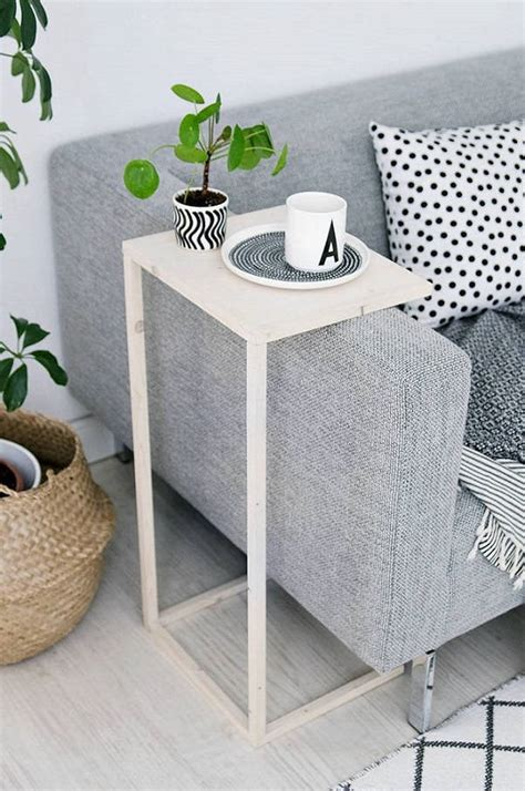 space saving end table unconventional diy end tables that will keep your home