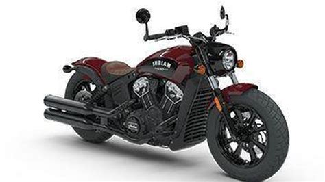 Indian Motorrad Modelle 2018 by Indian Motorcycle Introduces Its New Scout Bobber