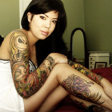 female sleeve tattoos ideas cool tattoos designs