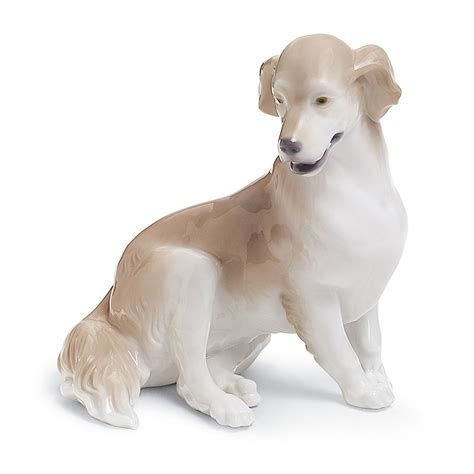 golden retriever statues golden retriever 01008345 lladro figurine
