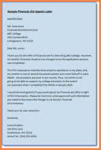 Financial Aid Essay Sample 7 Writing A Successful Sap Appeal Appeal Letter 2017